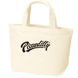 """2019 SPOT ITEM """"JACK-O'ARTWORKS x PICCADILLY"""" CANVAS LUNCH TOTE"""
